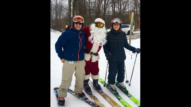 Shanty Creek Resort skiing, Christmas Day